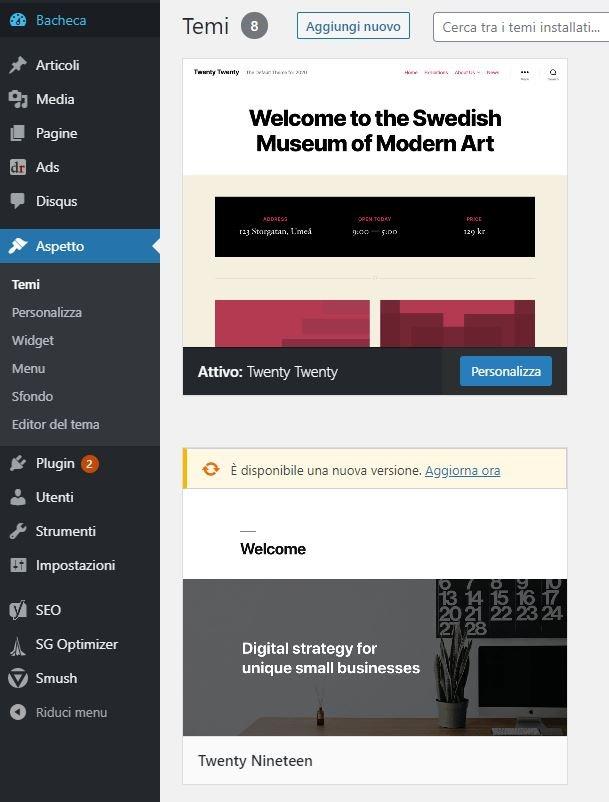collegare wordpress a analytics